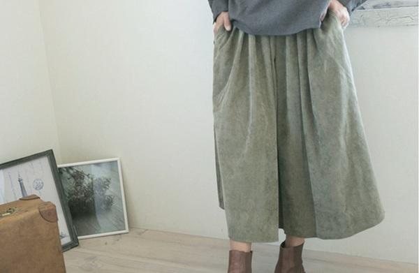 natusen-skirt-green